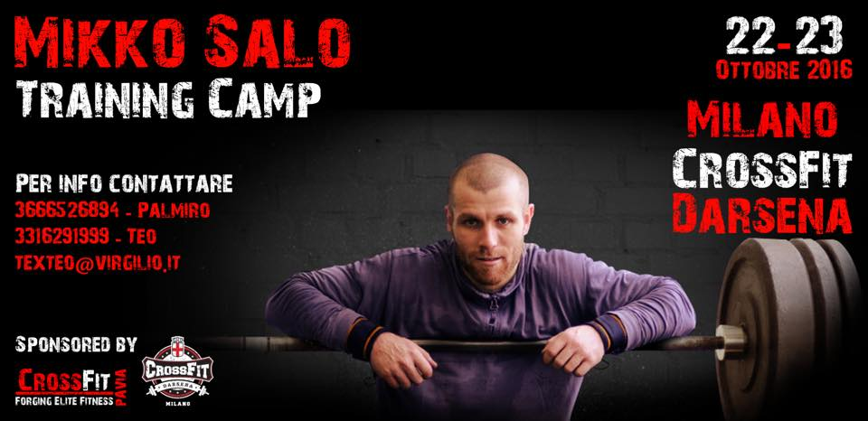 MIKKO SALO TRAINING CAMP 22.-23.10.16