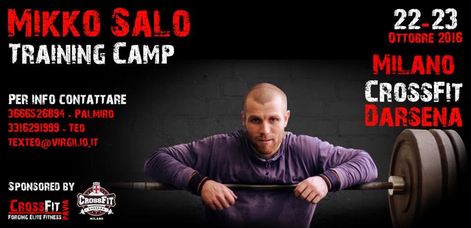 MIKKO SALO TRAINING CAMP 22.-23.10.16