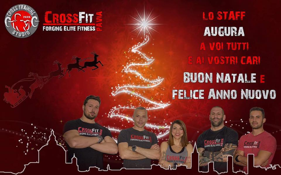 BUONE FESTE Da tutto lo staff CROSS TRAINING STUDIO PAVIA!