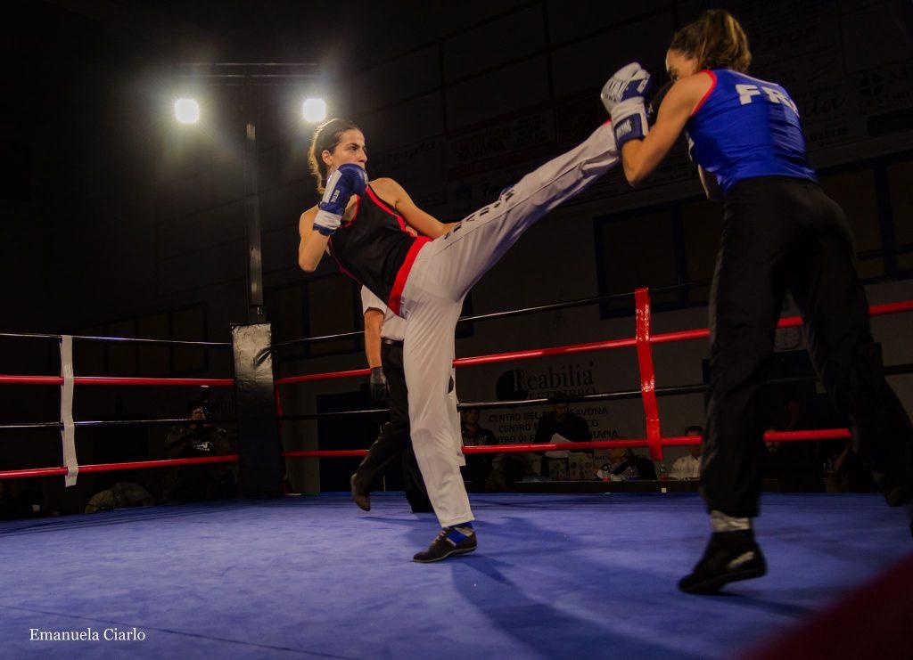 Sofia Cavallo per il titolo mondiale WKU di Full Contact.